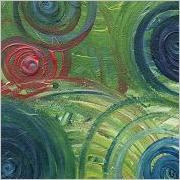 abstract swirls painting
